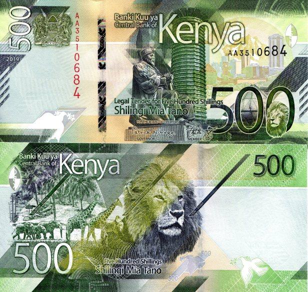 Kenya 500 Shilling