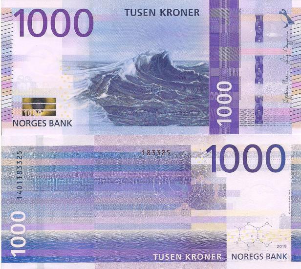 Norway 1,000 Kroner