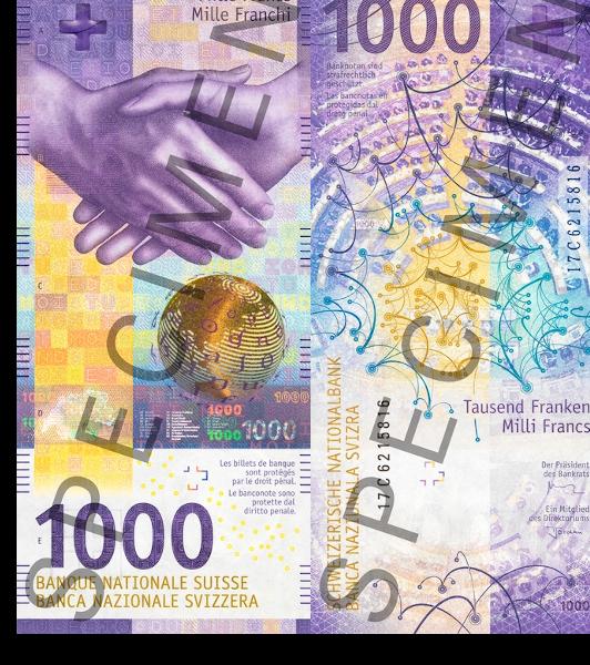 Switzerland 1,000 Franc